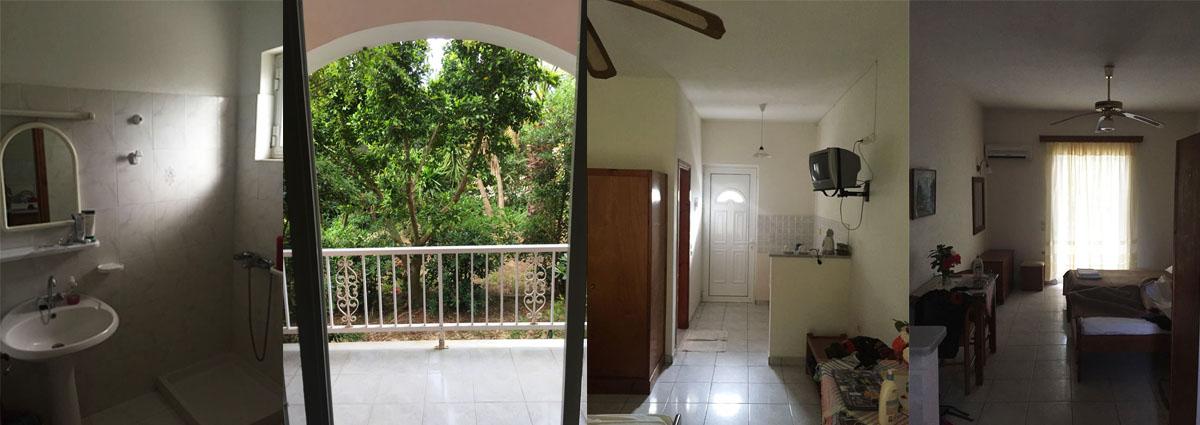 volunteer accommodation inside